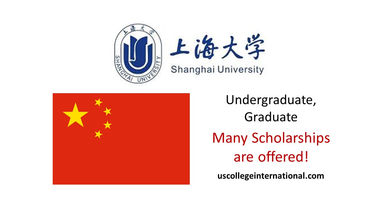 Shanghai University Scholarships