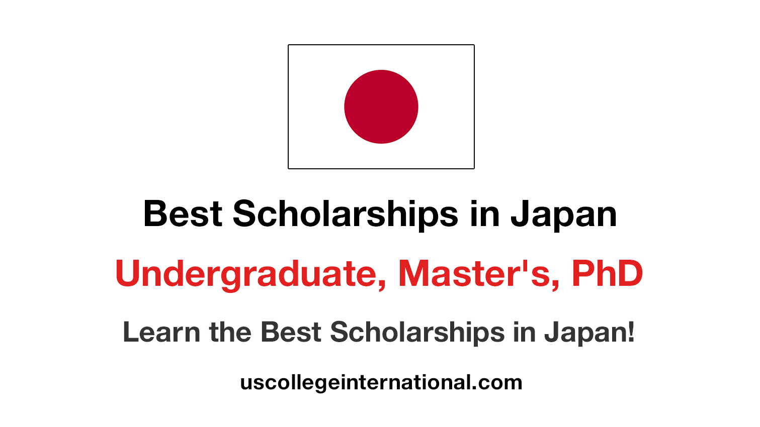 Scholarships in Japan