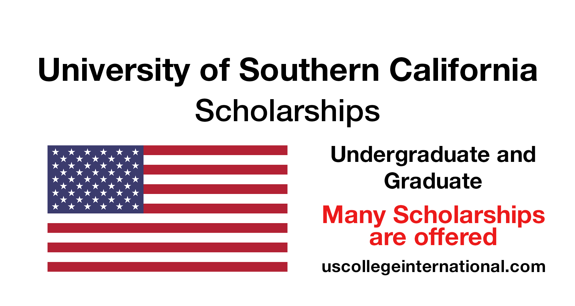 University of Southern California Scholarships