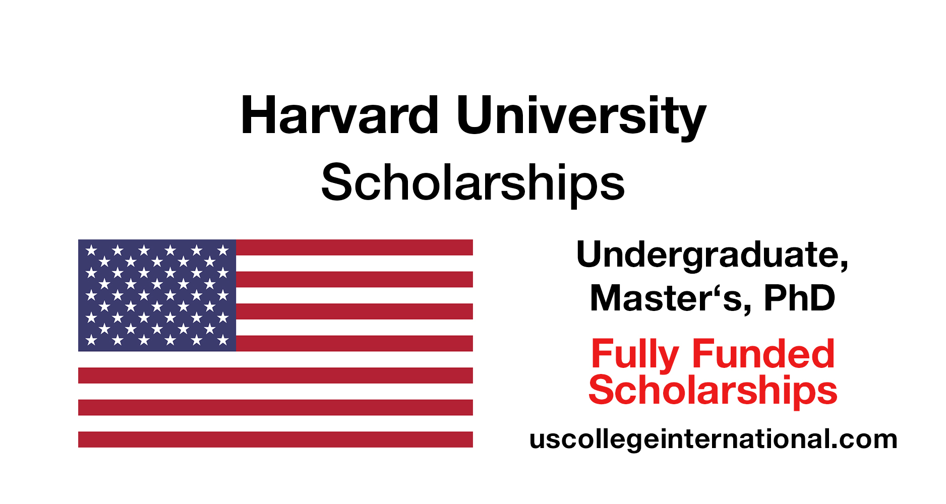 Harvard University Scholarships 2019 (Fully Funded