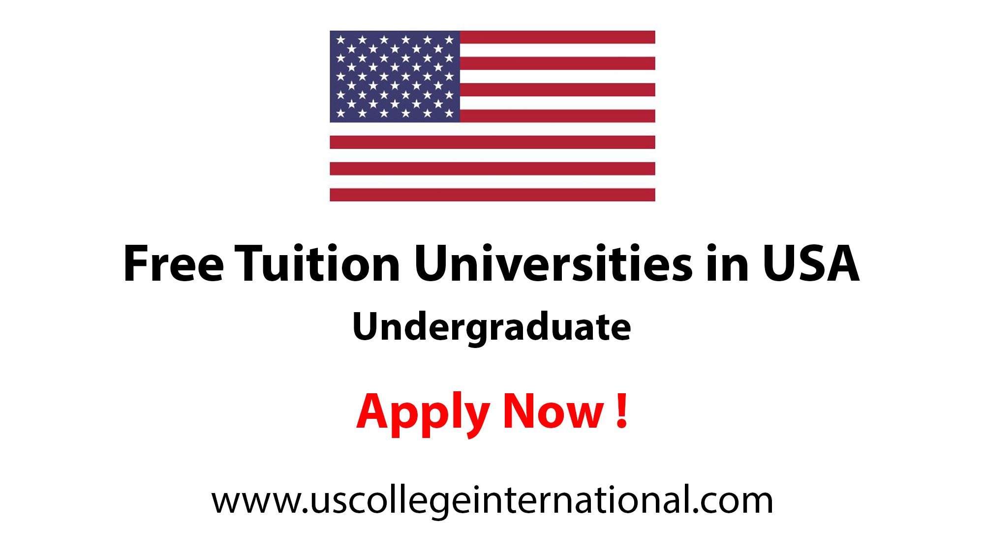 Tuition Free Universities in USA