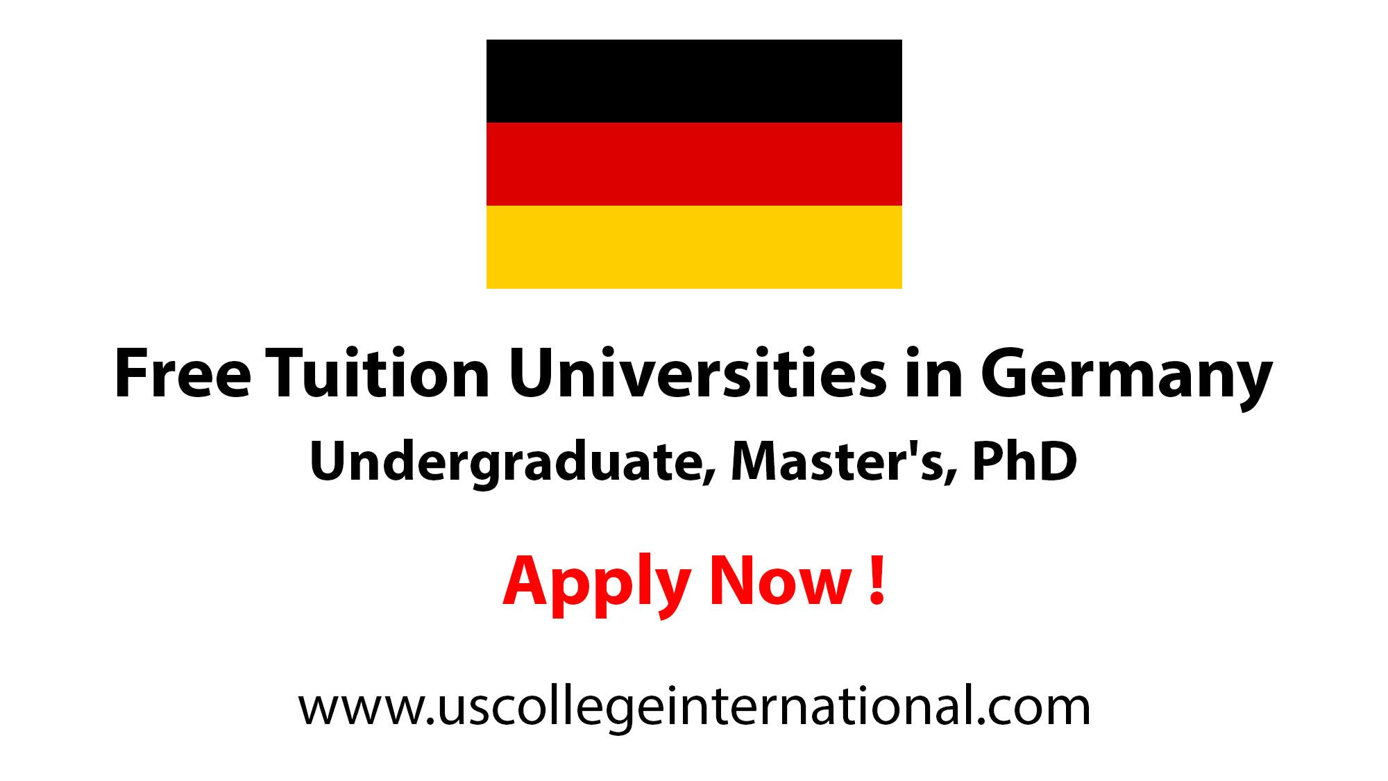 Tuition Free Universities in Germany for International Students