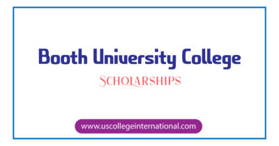 Booth University College Scholarships