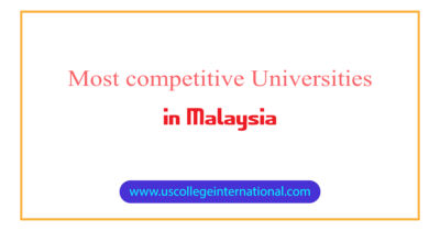 Most competitive Universities Malaysia