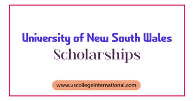 University of New South Wales Scholarships