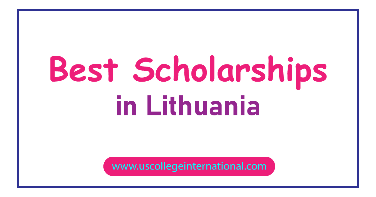 best scholarships Lithuania