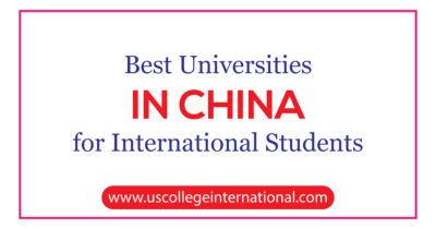 best universities in China for international students