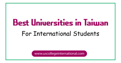 Best Universities in Taiwan for International Students