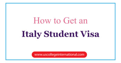 How to Get an Italy Student Visa