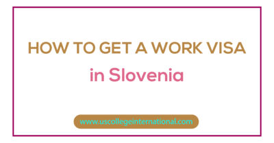 How to Get a Work Visa in Slovenia