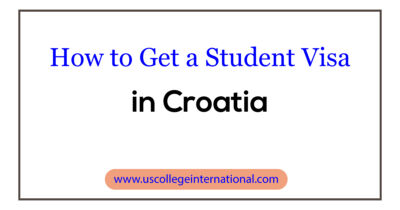 How to Get a Student Visa in Croatia