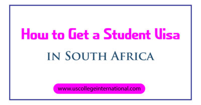 How to Get a Student Visa in South Africa