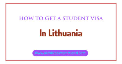 How to Get a Student Visa in Lithuania