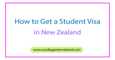 How to Get a Student Visa in New Zealand