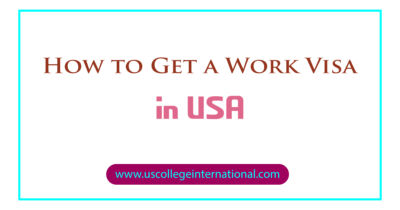 How to Get a Work Visa in USA