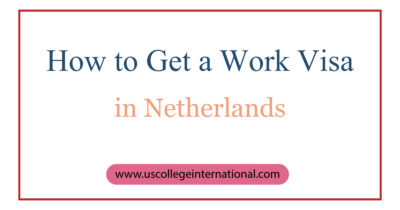 How to Get a Work Visa in Netherlands