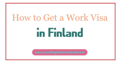 How to Get a Work Visa in Finland